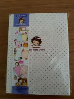 Brand new Korea mini mate diary