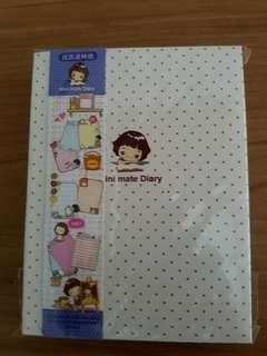 Brand new Korea mini mate diary