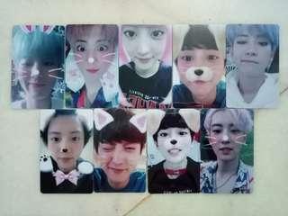 EXO chanyeol card sticker