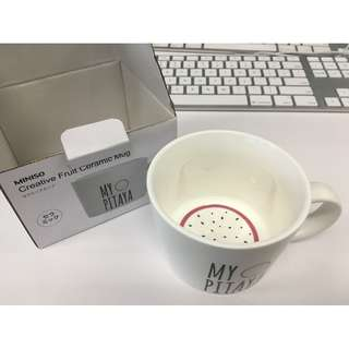 Creative Fruit Ceramic Mug from MINISO 名優創品