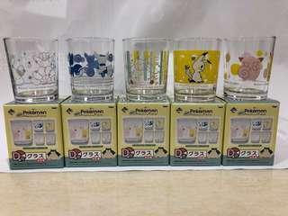 神奇寶貝-一番賞D賞玻璃杯