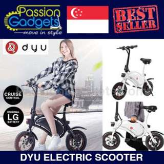 DYU Electric Scooter Mini Electric Bike LTA Approved 100%  Authentic Authorized Seller
