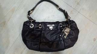 Prada hand and shoulder bag