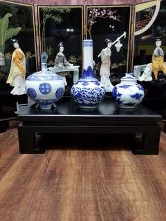 大清康熙瓷瓶