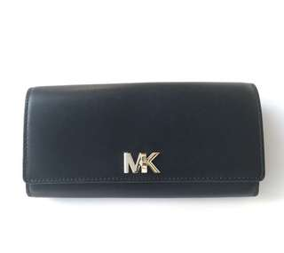 MICHAEL KORS MOTT CARRYALL LEATHER 19.5x10CM BLACK