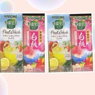日本飲品 (桃 / 菠蘿)