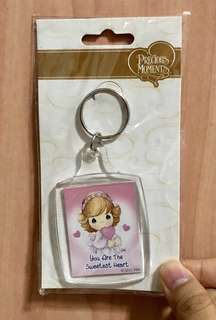 [With Free Gift] BNIP Precious Moments Keychain