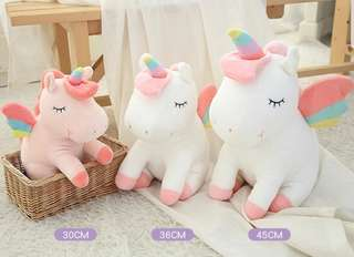 Soft Toy : Rainbow Unicorn