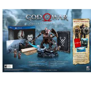 God Of War Collector Edition PS4