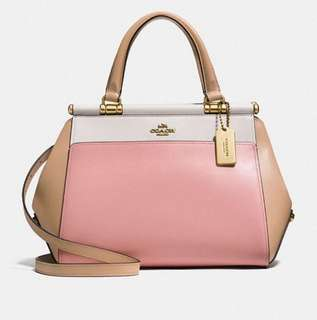 AUTHENTIC COACH GRACE COLOR BLOCK