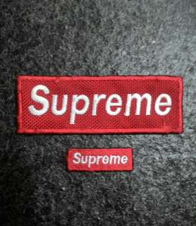 Supreme pair patches
