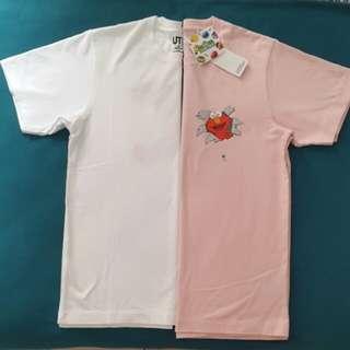 Uniqlo X Kaws Sesame Street T-shirt
