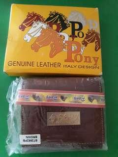 Pony wallet