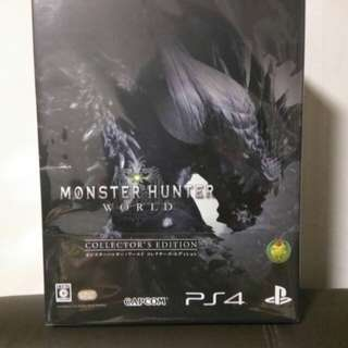 Monster Hunter World PS4 Collector Edition, (Last One left)