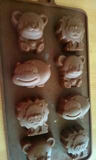 🚚 巧克力模~動物&kitty款