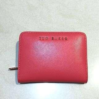 英國精品Ted Baker 短皮夾(零錢/卡夾)