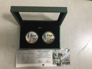 Changi T3 $5 commemorative 2 in 1 coin set