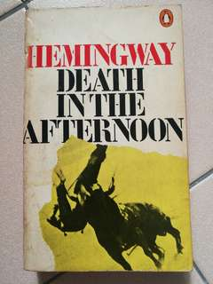Hemingway - Death in the afternoon