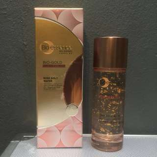 bio essence rose gold water