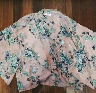 Chiffon Kimono topper