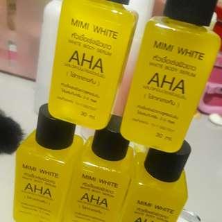 Authentic Korean AHA mimi white