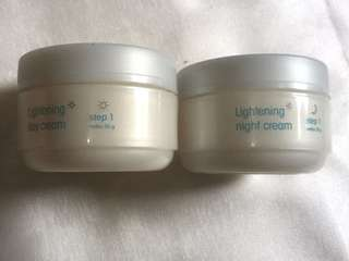 Wardah Cream Lightening Day & Night Step1