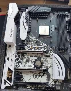 🚚 華擎 太極 X370 主機板 (Ryzen AMD AM4 使用)