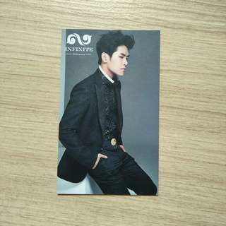 infinite hoya dilemma photocard