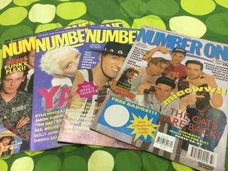 Number One UK pop music magazine 1989