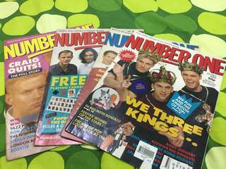 Number One UK pop music magazine 1989