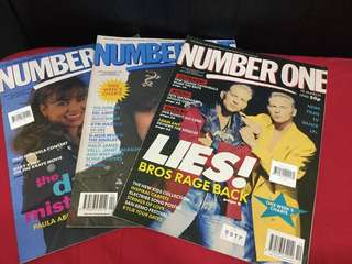 Number One UK pop music magazine