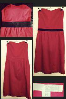 Minkpink Strapless Dress 14