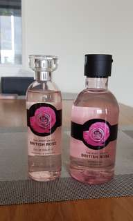 Bodyshop British rose