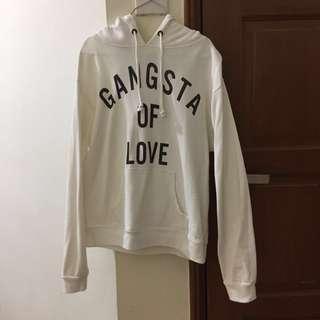 Forever 21 White Hoodie