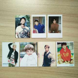 btob minhyuk photocards