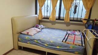 Furnished room with aircon and wifi for rent