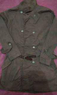 Semi long blazer