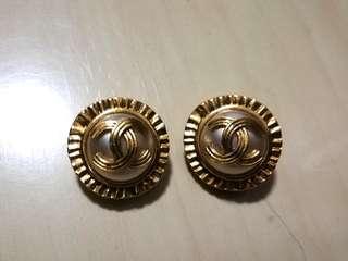 Chanel vintage earrings 耳夾