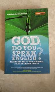 God Do You Speak English?