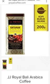 JJ Royal Bali Arabica Coffee Kintamani