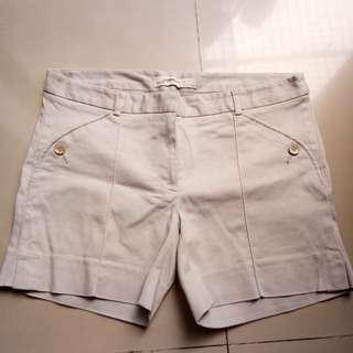 zara basic short pants