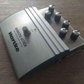 Hartke AGX Acoustic Attack - Pre-amp/Pedal