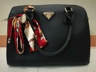 Secosana Black Office Bag