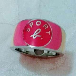 靚靚 粉紅色戒指~ 免費禮物