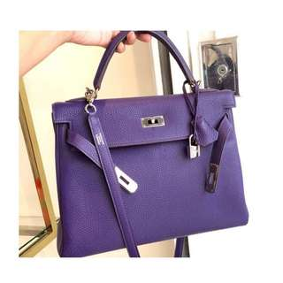 Authentic Hermes Kelly 32 Bag