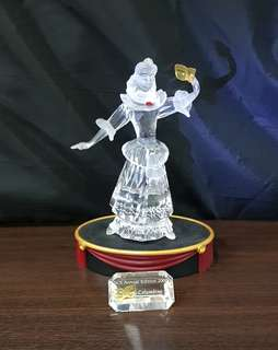 4 Swarovski Silver Crystal - AE 2000 COLUMBINE (SIGNED)