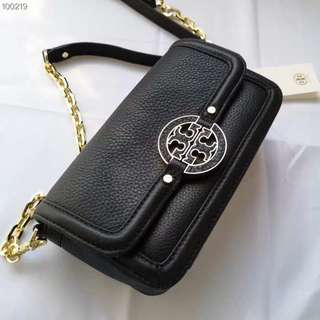 SALE✨Tory Burch amanda mini crossbody black/pink/red colour😊