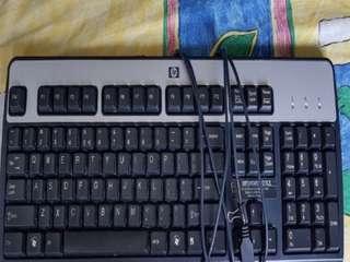 HP keyboard  (Used)