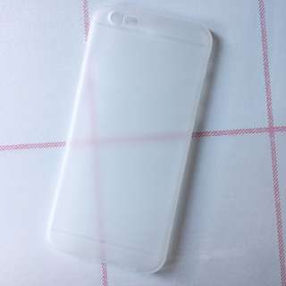 iphone6s 透明磨砂軟殼
