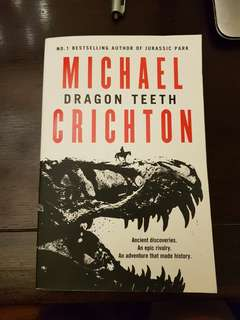 Dragon by michael crichton